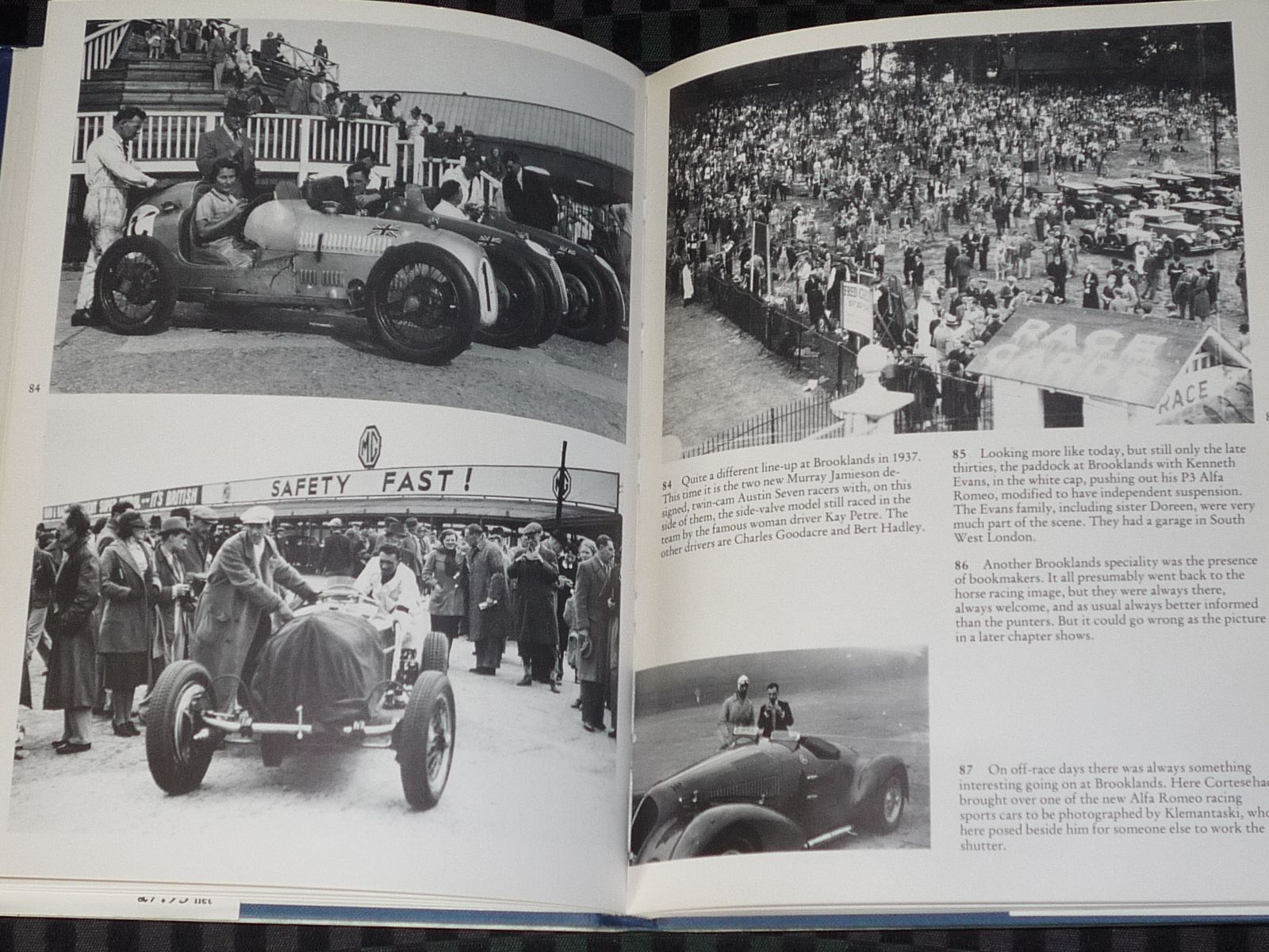 Pit And Paddock A Background To Motor Racing 1894 1978